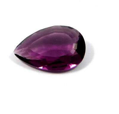 29 Cts. Natural Faceted Pear Shape Purple Hydro Cut Gemstone AAK1584