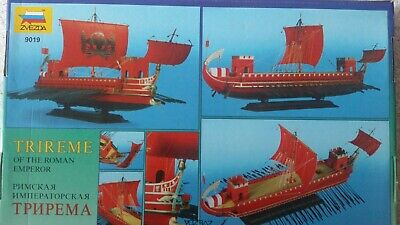 trireme of the roman emperor, zvezda 9019 scale 1/72
