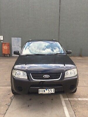 2006 FORD TERRITORY 7 Seat BLACK WAGON VGC   RWC/ REGO (Vic) / Warranty [UXN551]