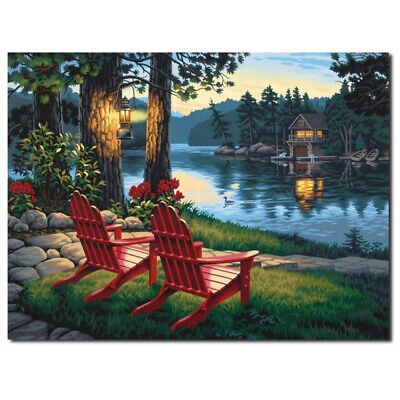 16*12in Unframed Modern Art Oil Painting Print Picture Home Wall Room Deco FQD
