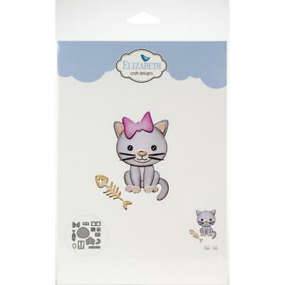 Elizabeth Craft Metal Die -Cat