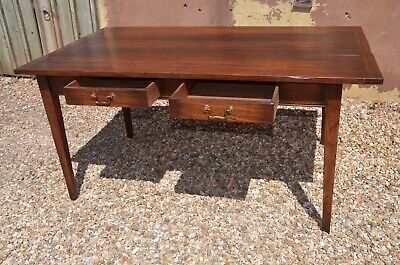 Vintage Oak French Farmhouse Style Dining Table