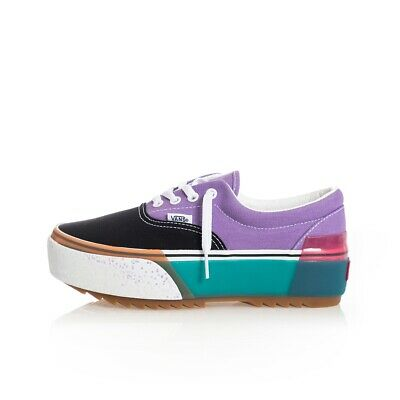 Sneakers Donna Vans Era Stacked Vn0A4Btovyf Shoes Woman Snkrsroom Violet