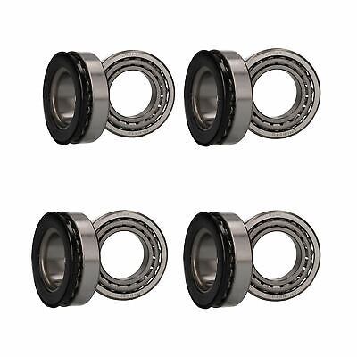 4 x Wheel Bearing Kit for Braked Indespension Boat Trailers Twin Axle