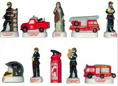 Mat 2005 Firefighters Firefighters Character Vehicle Charm Porcelain 3D Choice