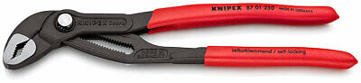 Knipex 87 01 Cobra Hightech Water Pump Pliers :- Choice of sizes 125mm to 560mm