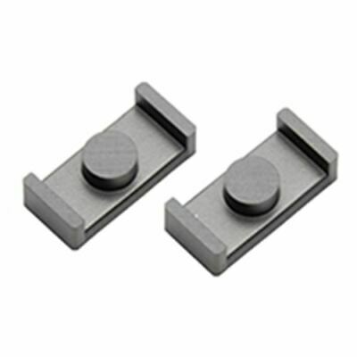 Pair Ceramag//Stackpole E-Shaped Ferrite Cores Computer Products 820036-.13 NOS