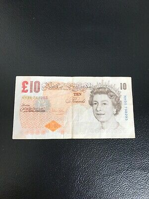 Bank Of England Old Ten Pound £10 Notes Circulated HH56730293