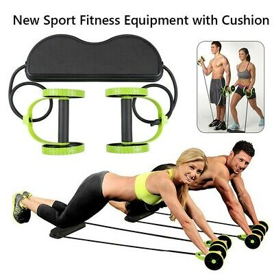 Abdominale Taille amincissant Trainer Exerciser Roller Core double AB Roue