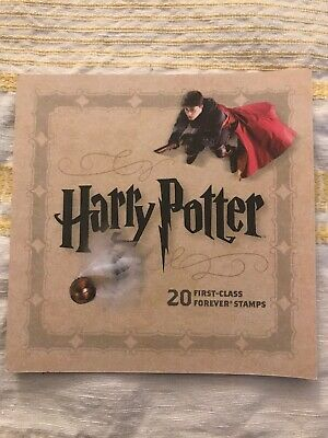 Harry Potter Set Of 20 First Class USPS Forever Stamps Postage 2013 New Unused