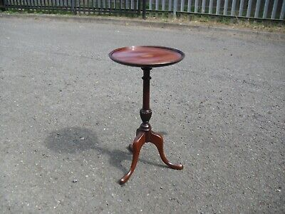 Edwardian Mahogany Inlaid Wine Side Table Display Stand