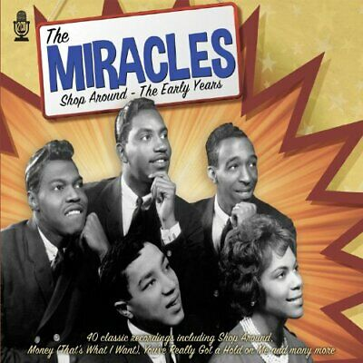 The Miracles - Shop Around - The Early Years - The Miracles CD Q4LN The Cheap