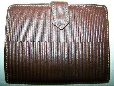 Portafoglio Gianni Versace  Luxury Brown Wallet Made In Italy