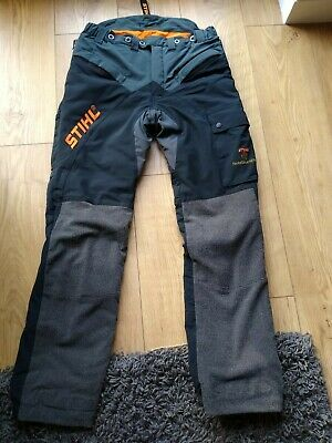Used once  Stihl Hiflex Chainsaw Trousers Design C size medium.