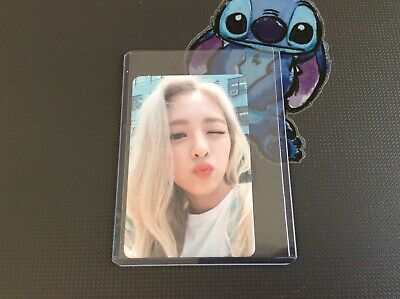 """ITZY """"ITZ ICY"""" official photocard Yuna"""