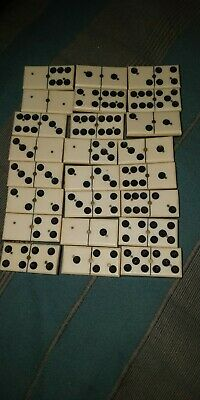 Dominos Anciens Incomplet