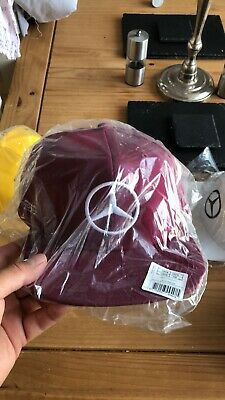 lewis hamilton mercedes cap Barcelona Spain New Never Opened. Holy Grail Cap