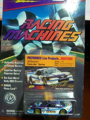 PREFORMED LINE PRODUCTS FORD MUSTANG JOHNNY LIGHTNING RACING MACHINES unopened