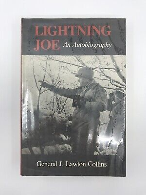 General Lightning Joe Autobiography West Point US Army Military WWII Strategist