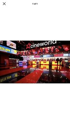 One Cineworld Cinema Ticket For Sunday 25 Aug 2019-Any Film Adult Or Child