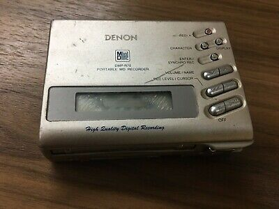 Denon DMP-R70MiniDisc Recorder / Player Portable minidisc MD