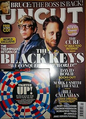 UNCUT Magazine - July 2019 - Black Keys, Cure, Rory Gallagher, Bowie, PP Arnold