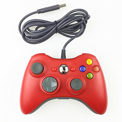 Wired Game Controller Gamepad 360 Console Joypad Joystick for XBOX 360 AU AWY