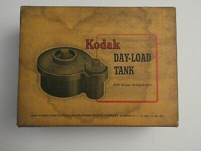 Vintage Kodak Day-Load 35mm Film Developing Tank and 2 pack Fuji film (Expired)
