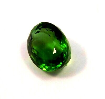 Treated Faceted Green  Apatite Gemstone 18CT 17x12mm  NG11994