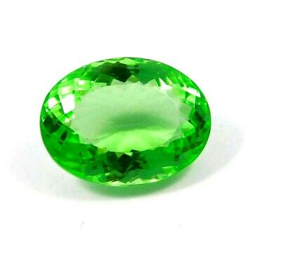 Treated Faceted Emerald Gemstone37.25 CT 25x17mm  RM16867