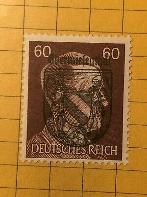 GERMANY (OBERWIESENTHAL) 1945 POST WWII-Local Issue 60 Rpf.  MNH