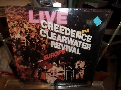 Creedence Clearwater Revival – Live In Europe 1973 US 1st Press STILL SEALED