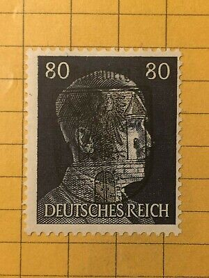 GERMANY (HAVELBERG) 1945 POST WWII-LOCAL ISSUE 80 Rpf.  MNH