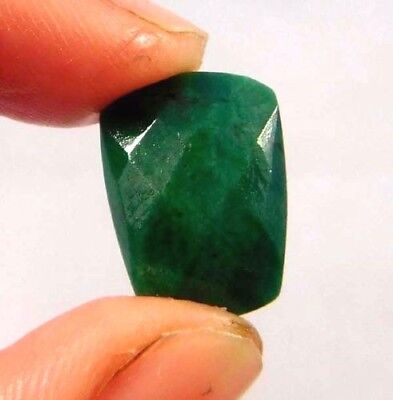 Dyed Faceted Emerald Cut Loose Gemstones 7 CT 14X8mm..  W408