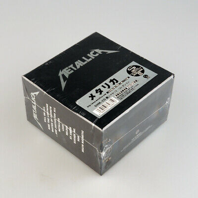 NEW The Metallica Album Collection 13 Album CD Box Set SEALED