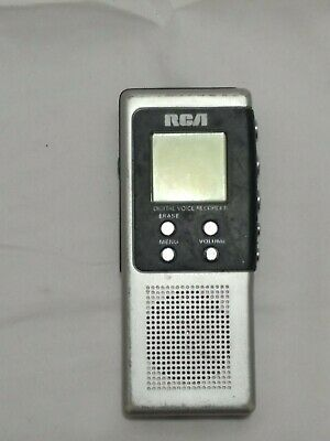 RCA RP5010B (8 MB, 3 Hours) Handheld Digital Voice Recorder Ghost Hunting EVP