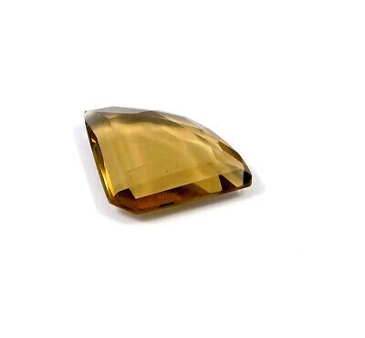 26 Cts. Natural Faceted Fancy Shape Brown Hydro Cut Gemstone AAK1658