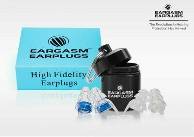 Eargasm High Fidelity Earplugs w/ Premium Gift Box Packaging - 2 Sizes  ☆NEW☆