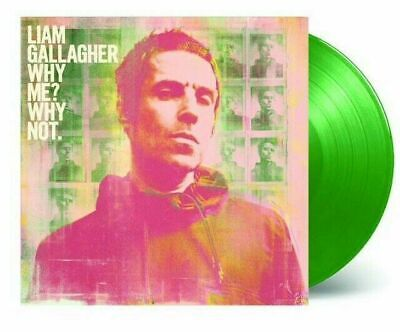 LIAM GALLAGHER 'WHY ME? WHY NOT' Bottle Green Coloured VINYL LP (20th Sept 2019)