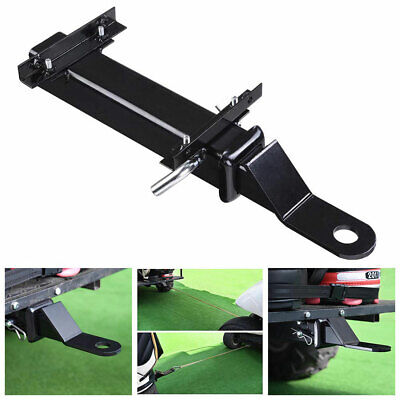Hitch Fit on Backseat Footrest Rear Seat w/ Receiver Universal Golf Cart Trailer