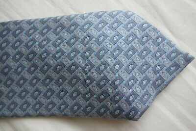 'Angelo Bosani' - Tie Rack Men's Italian Silk Tie In A Silver Grey Design Superb