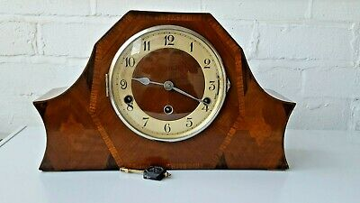 Rare Westminster Whittington Chime Mantle Clock in Working Order