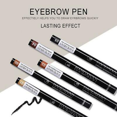Four-headed Fork Waterproof And Sweat-proof Lasting Not Blooming Eyebrow Makeup