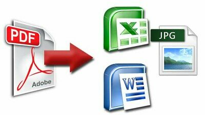Pro Pdf To Word Excel Ppt More Formats / Instantly Delivery / Lifetime