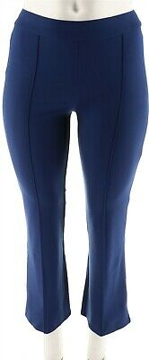 C Wonder Petite Boot Cut Pull-On Ponte Knit Pants Medieval Blue 16P NEW A282642
