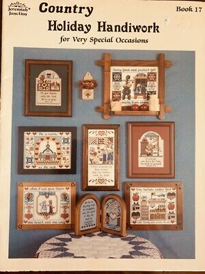 Jeremiah Junction Book #17 Country Holiday Handiwork Cross Stitch Pattern
