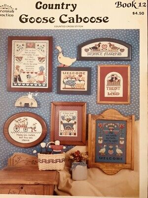 Jeremiah Junction Book 12 Goose Caboose Cross Stitch Pattern 1986