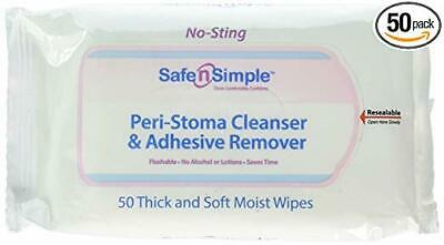 Safe N' Simple Stoma Wipe Qty 50