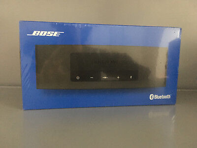 BOSE SoundLink Mini Bluetooth speaker II  Lautsprecher, Carbon anthrazit