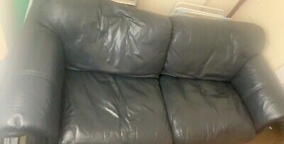 Leather 3 Seater And 2 Seater Sofa